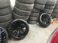 """BMW 3 4 series alloys 403m 19"""" inch"""