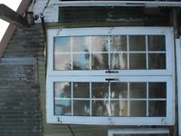 PVC White Double Glazed French Door for Sale