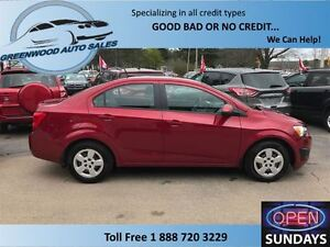2013 Chevrolet Sonic AC,CRUISE.....VERY EASY ON FUEL!!!