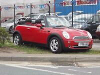 (CONVERTIBLE)MINI COOPER .1.6.CC .READY TO DRIVE AWAY