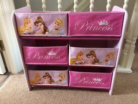 Disney Princess Toy Storage Unit