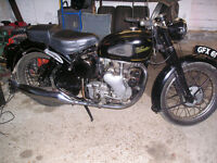 CLASSIC 1953 VELOCETTE MAC 350 MOTOCYCLE