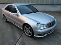 Stunning 2006 06 Mercedes C200 Sport Kompressor Auto **2 Owners+Only 76000+History+Mega Spec**
