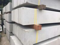 🍭Plain Concrete Fencing Base Panels * New Posts