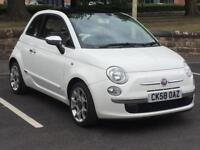 FIAT 500 2009 (58 REG)*£2899*LOW MILES*LONG MOT*CHEAP CAR TO RUN*IDEAL FIRST CAR*PX WELCOME*DELIVERY