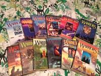 Warriors cat books