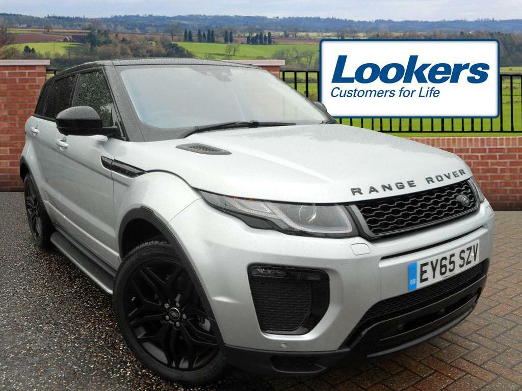 land rover range rover evoque 2 0 td4 hse dynamic lux 5dr auto silver 2015 09 16 in. Black Bedroom Furniture Sets. Home Design Ideas