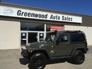 2015 Jeep Wrangler Sahara NAVI, ROOF RACK, WINCH