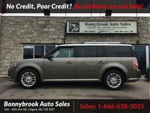 2013 Ford Flex SEL Awd leather navigation rearview camera sunroo