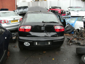 Breaking for Spares SEAT Leon 2003