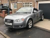 Audi A4 convertible 1.8 t full service history
