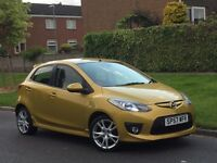 57' 2008 MAZDA 2 1.5 SPORT + FOGLIGHTS + ALLOYS +