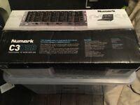 "Numark C3USB professional 19"" mixer five channel mobile dj rack mixer"