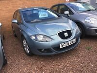 2007 SEAT LEON 1.9 TDI (diesel) ONLY DONE 77K -- MOT TILL DECEMBER 2017/ NO ADVISORY (same VW GOLF)