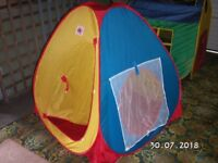 Two pop up playtents