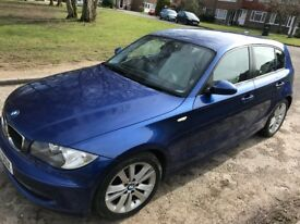 BMW 1 Series 2.0 120i SE 5dr FULL BMW SERVICE HISTORY **LOW MILEAGE**