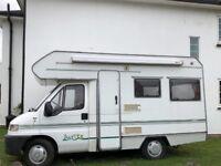 Fiat camper van very goood condition