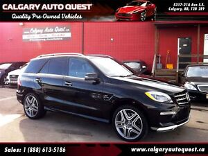 2013 Mercedes-Benz M-Class ML63 AMG AWD/NAVI/B.CAM/LEATHER/ROOF