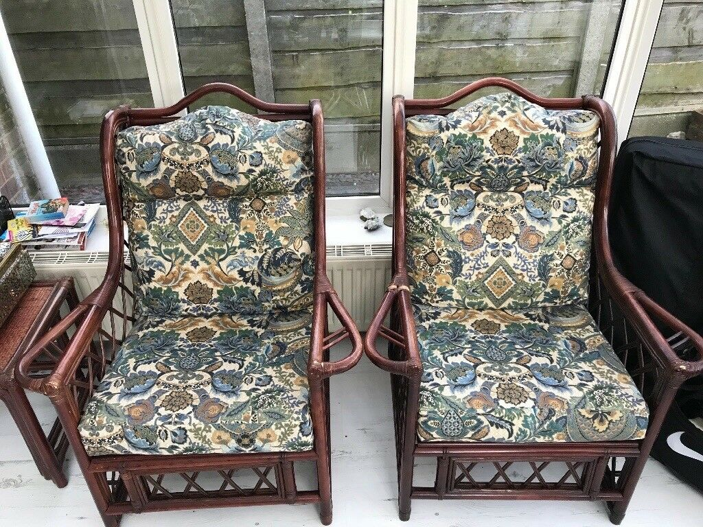 Bamboo chairs (set) Collect For Free