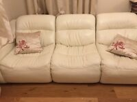 DFS Real leather Sofas really good condition