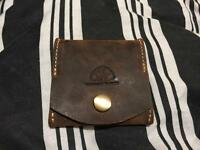 Suede Leather Coin Purse