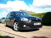 2007 TOYOTA AVENSIS D4D T SPIRIT DIESEL FULL LEATHER INTERIOR
