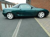 Rover MGF, £400 O.N.O, good runner but also good for spares and repairs