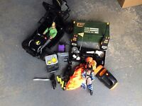 Action Men plus Jeep, Buggy, Lots of Extras
