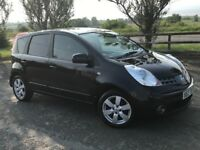 £94 P/Mth 2008 Nissan Note 1.4 Accenta Low insurance cheap car lik Corsa fiesta polo Clio Leon golf