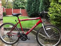 adults phantom integra mountain bike hardly used