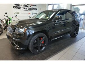 2012 Jeep Grand Cherokee SRT8 - Black Wheels, 470 HP, 465 LB