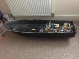 Nitro r/c boat