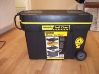 BRAND NEW STANLEY MOBILE TOOL CHEST,,,,NEVER USED