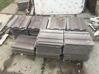 100 x Redland Renown Roof Tiles