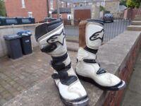 Kids Motocross Boots size 1