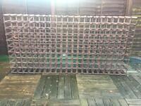 Wine rack for 250 bottles