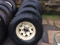 Wheels to fit Land Rover Defender