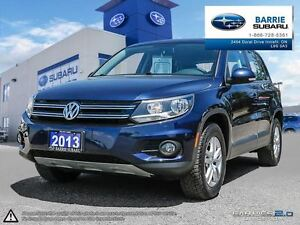 2013 Volkswagen Tiguan Trendline 6sp at Tip 4M Cloth,Heated Seat