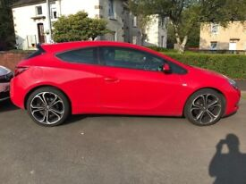 Vauxhall Astra GTC 1.4 i 16v turbo limited edition 3dr