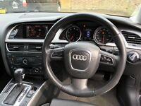 Black Audi A5 2.0 TFSI Sport Multitronic 2dr