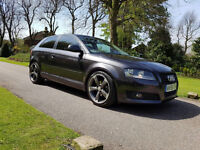 Perfect condition, stunning Audi A3, new tyres, 2keys ,service book, great look.