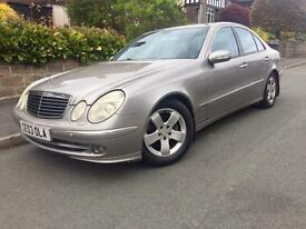 2003 Mercedes E Class 220 Cdi Diesel Avantgarde Half Leather