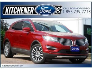 2015 Lincoln MKC LEATHER | ROOF | NAVI | CAM | GREAT PRICE!