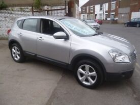 Nissan QASHQAI Acenta DCI,5 door hatchback,1 previous owner,2 keys,great looking car,good mpg