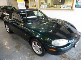 1999 MAZDA MX-5 1.8S 2DOOR CONVERTIBLE, SERVICE HISTORY,NEW CAMBELT KIT AND WATER PUMPE