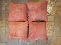 ***Quality jacquard cushions - £8 for all**