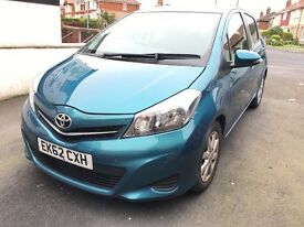Toyota Yaris 2012 diesel 1.4 cheap for quick sale.
