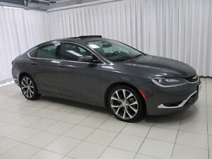 2015 Chrysler 200 200C V6 SEDAN w/ NAV, PANORAMIC ROOF, BACK UP