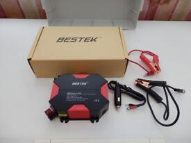 Brand New unused BESTEK 400W Power Inverter DC 12V to AC 240V Car Adapter with 4 USB Ports