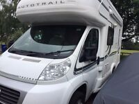 Autotrail Tracker EKS SE 2-berth excellent condition with VERY low mileage